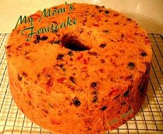 My Mom's Fruit Cake - A family recipe passed down through the generations and still going strong. Lovefoodies
