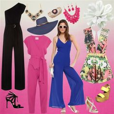 jumpsuit by orban-betty on Polyvore featuring Issa, Oasis, Chelsea Paris, BCBGMAXAZRIA, Steve Madden and Boohoo