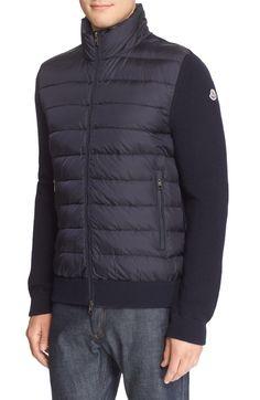 moncler sweater jacket