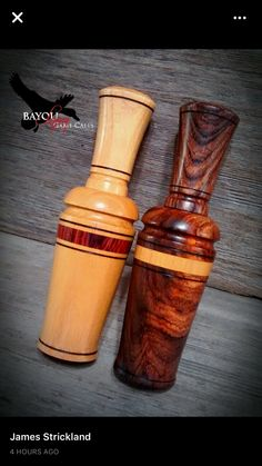 Duck Calls, Hunting Accessories, Lathe Projects, Game Calls, Duck Hunting, Woodturning, Whistles, Ducks, Project Ideas
