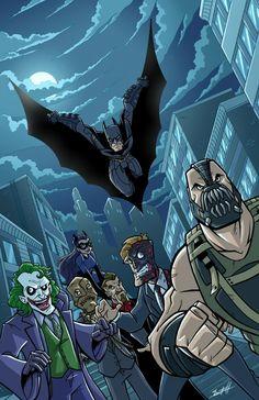 The Dark Knight Trilogy fan art