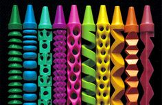 crayon calado colorido