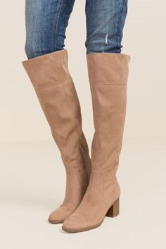 Indigo Rd. - Oneal Cuffed Over The Knee Boot
