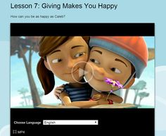GIVING MAKES YOU HAPPY Find out why giving makes Sophia and Caleb happy http://www.jw.org/en/bible-teachings/family/children/become-jehovahs-friend/videos/giving-makes-you-happy/