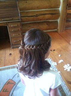 #flowergirl hair by Cheyenne.