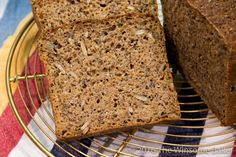 No-Knead Seeded Wholemeal Bread - can use golden syrup or brown sugar instead of molasses Artisan Bread Recipes, Nut Recipes, Baker Recipes, Easy Bread Recipes, Recipies, Healthy Recipes, Healthy Breads, Veggie Recipes, Wholemeal Flour Recipes
