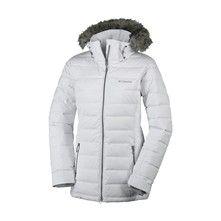 735ea7c0e1805 Columbia Chaqueta de esquí - blanco Chaquetas De Esquí