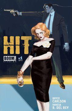Hit #1, September 2013, 2nd print variant cover Pencils/Inks/Colors: Vanesa R. Del Rey