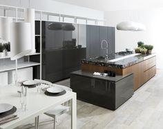Emotions de Gamadecor: cocinas diseñadas para emocionar #Porcelanosa #Gamadecor #kitchendesign
