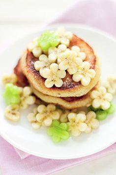 Recetas para niños: receta de tortitas con fruta