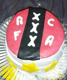 Ajax Amsterdam taart