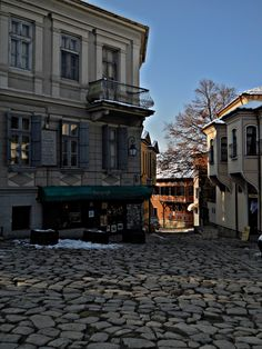 Plovdiv, Bulgaria, the ten oldest cities in the world South East Europe, Eastern Europe, Beautiful Places In The World, Amazing Places, City Architecture, Life Is An Adventure, Old City, Macedonia, Places To See