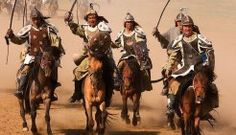 Good Thesis: After emerging from Mongol rule until the Russian Czars looked toward Western Europe for ideas on how to strengthen their empire against any expansion from bordering Asian powers causin the Russian state to beome millitarisic and autoraic. Mongolia, The Han Dynasty, Genghis Khan, King Of Kings, Barbarian, Central Asia, Middle Ages, Medieval, Horses