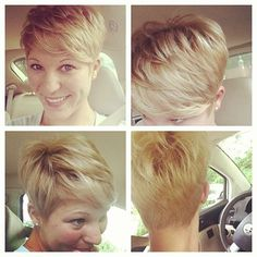 Pixie Cut Back on Pinterest | Pixie Cuts, Jennifer Lawrence Pixie and ...