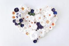 Paper flower wedding anniversary by Knot & Pop | Anniversaries, Wedding Ideas | 100 Layer Cake
