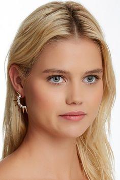 Sunburst Stud Earrings by Jules Smith on @HauteLook