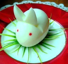 DIY Cute Egg Rabbit