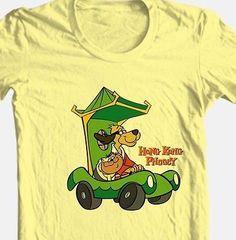 Hong-Kong-Phooey-T-shirt-retro-80s-Saturday-morning-cartoon-cotton-graphic-tee