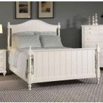 Broyhill - Hayden Place Panel Bed in White - 4649-26  SPECIAL PRICE: $664.00