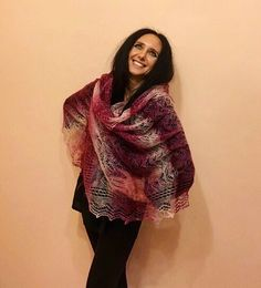 red scarf + fashion + accessories + long shawl + shawl + women's fashion + winter scarf + handknit + knitted shawl + winter fashion + lady in red + red color in fashion + red style + red shawl + red fashion https://www.etsy.com/il-en/listing/469283552/burgundy-hand-knitted-shawl-lace-scarf?ref=shop_home_active_26