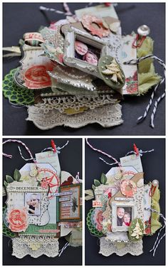 Emma Trout: Webster's Pages Tag Book Tutorial