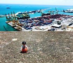 Here's at the in Spain enjoying the view of containers. Even on vacation he couldn't stay away from a marvel! To win your own tell us what makes you a with the hashtag Shipping Containers, Supply Chain, Barcelona Spain, Dolores Park, Marvel, Vacation, Adventure, Vacations, Holidays Music