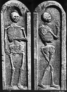 Side By Side Skeleton