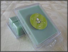 Cucumber Melon Soy Wax Melts by FroggyBottomCrafters on Etsy, $3.00