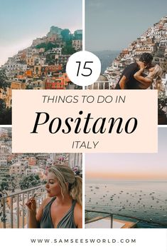 The ultimate guide on things to do in Positano, Italy. Find the beauty of the Amalfi Coast on this stunning, photogenic village. travel Things to do in Positano, Italy Amalfi Coast Italy, Positano Italy, Sorrento Italy, Italy Italy, Naples Italy, Tuscany Italy, Italy Map, Italy Food, Verona Italy
