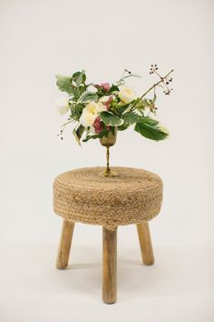 natural small table