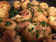 Chrumkavé pučené zemiaky z rúry - Receptik.sk