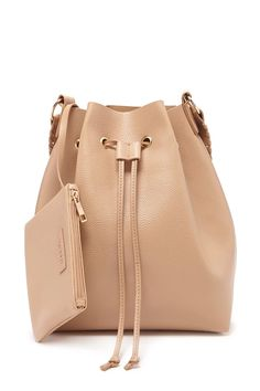 Faux Leather Bucket Bag #accessorize