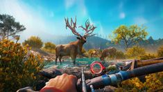 Far Cry fans are no strangers to visiting exotic locales, but New Dawn's vibrant post-apocalyptic setting promised to introduce some drastic changes to the Free Xbox One, Solo Player, First Person Shooter, Freedom Fighters, Paint By Number, Dawn, Crying, Montana, Moose Art