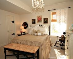 A Vintage Guest Room