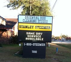 Stanley Steemer Gets Your Home Cleaner! Check Out Our Great New Electronic  Sign! Call