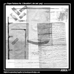 Paper Textures No. 1 BrushSet
