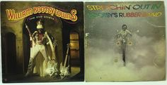 William Bootsy Collins #Vinyl Record Lot Bootsy's Rubber Band + The One Giveth