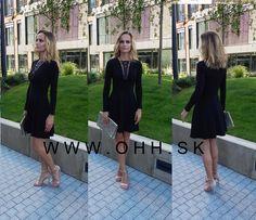 #ohhsk #zeny #saty #cierne #moda #styl