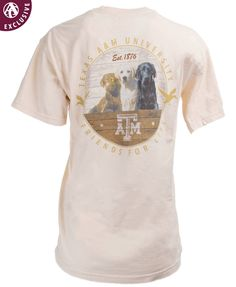 3043b03bb Texas A&M Aggies Friends For Life T-Shirt