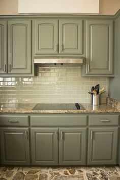 Kitchen cabinet paint color other than white