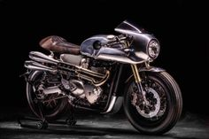 Cafe Racer #motorcycles #caferacer #motos   caferacerpasion.com