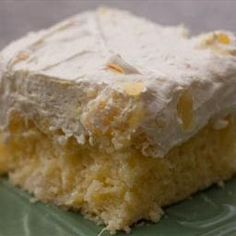 Pineapple Dream Cake - great summer dessert!