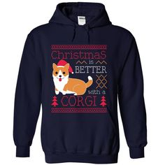 Christmas Is Better With A Corgi T-Shirts, Hoodies. Get It Now ==►…