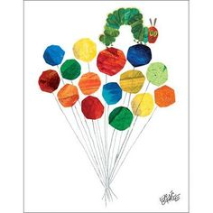Oopsy Daisy Eric Carle's Up Up And Away Canvas Art
