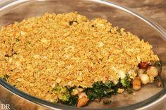 ovenschotel van boerenkool, broccoli, pastinaak, wortels