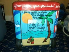 raise your standards around the top! Fraternity Crafts, Raise Your Standards, Sigma Kappa, Spring Break, Good Things, Cold, Coolers, Winter Vacations