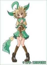 Hi, I'm Leafeon. I live deep in the forest. I am secretive and love climbing trees. I am friends with a few Pokemon who live near. Battling isn't my style but I train and will do so to protect myself, my home and my friends. I am smart, fun and a little shy. I don't like people who don't recycle. I hope I can get to meet you soon