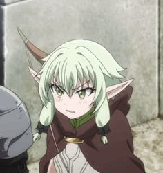 See more 'Goblin Slayer' images on Know Your Meme! Elfa, Anime Elf, Manga Anime, Goblin, Fanarts Anime, Anime Characters, Blue Hair Anime Boy, Girl Elf, Anime Guys