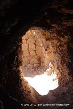 Underground tunnel at the Saqsaywaman ruins