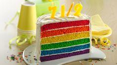 1/2 Birthday cake + celebration ideas.